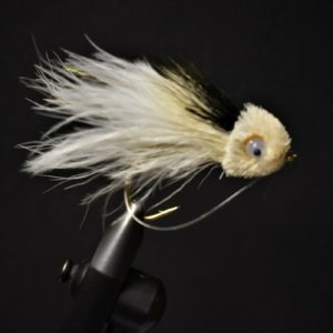 Size 2//0 Dirty Frog Spun Deer Hair Bass Fly Fly Fishing
